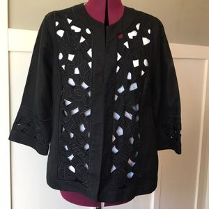 Non Mackie Wearable Art jacket L